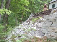 Ohio Retaining Wall Failure