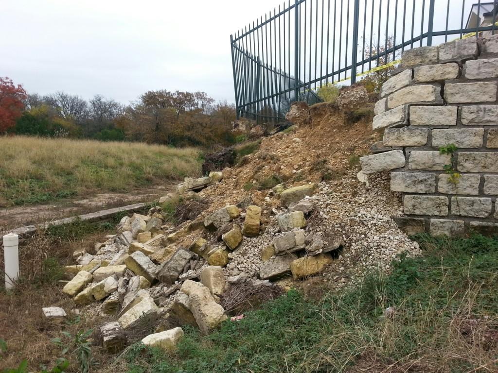 Austin Tx Wall Failure Retaining Wall Failures Com