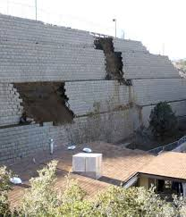 Prescott AZ Retaining Wall Failure